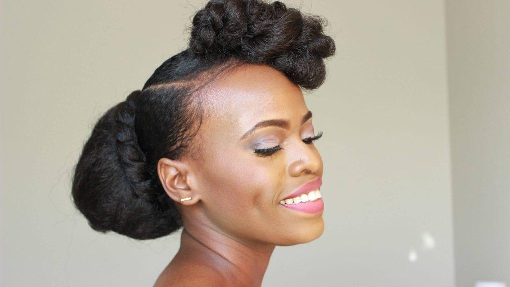 6 Elegant Wedding Hairstyles For Black Women Diy Updo Training